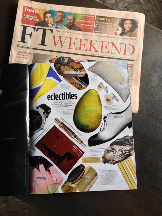 FT How to Spend it arts special