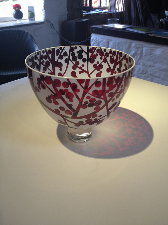 Ruby Sloe Berry Bowl