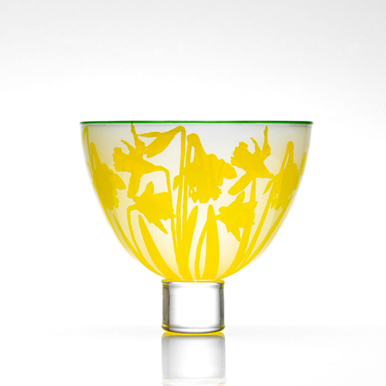 Wild Daffodil – Large Bowl