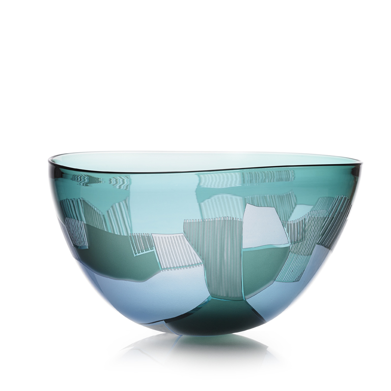 'Pushed' Landscape Bowl