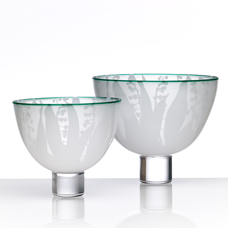 Lily of the Valley Bowl – Large Bowl
